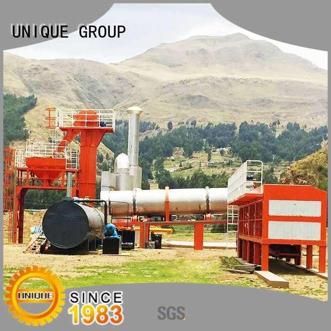 UNIQUE good quality asphalt plant manufacturer