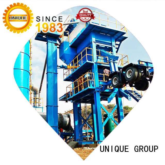 UNIQUE Asphalt Mixing Plant supplier