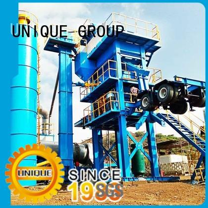 UNIQUE mobile Asphalt Mixing Plant directly sale for highway