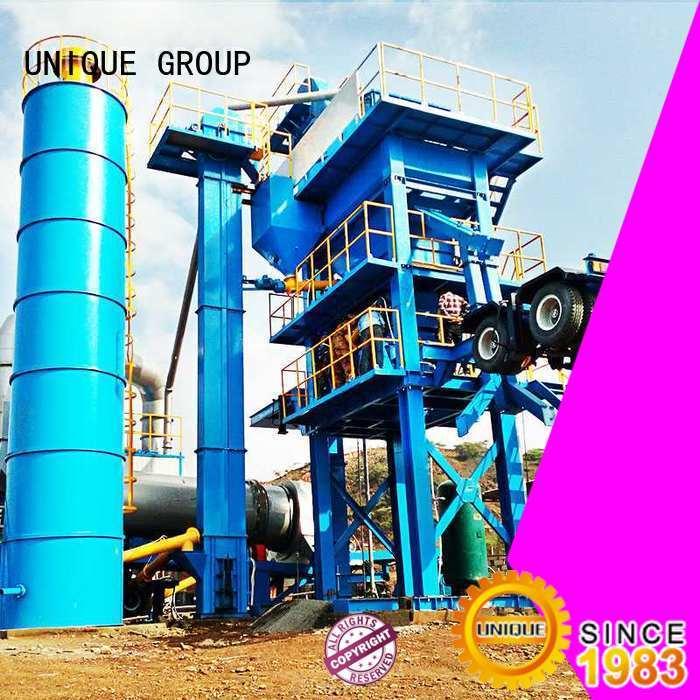 UNIQUE good quality bitumen mix plant supplier
