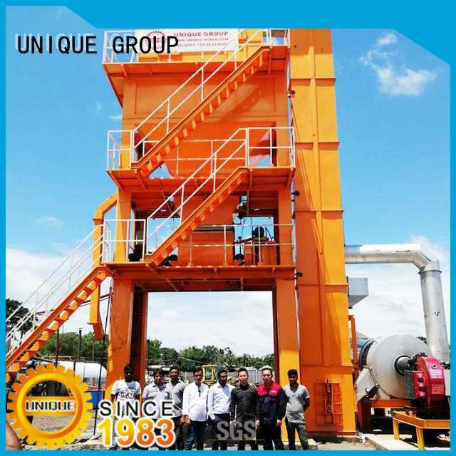 UNIQUE asphalt mixer factory price for city road