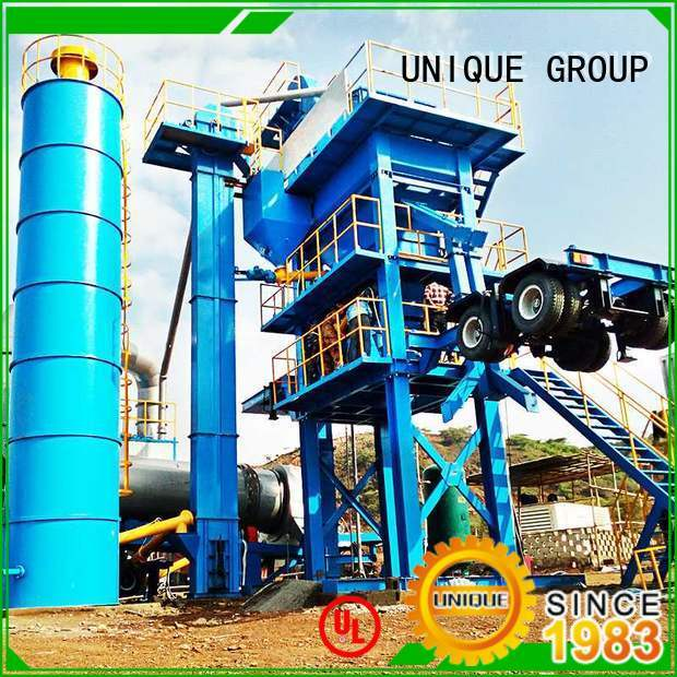 UNIQUE professional bitumen mix plant factory price